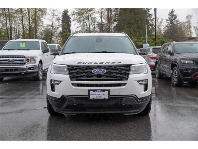 2018 Ford Explorer Sport (Stk: 9F30406A) in Surrey - Image 2 of 26