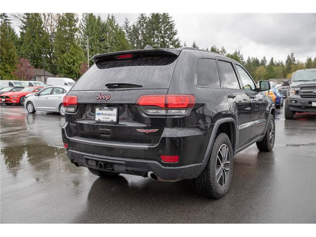 2018 Jeep Grand Cherokee Trailhawk (Stk: P6327) in Vancouver - Image 7 of 27