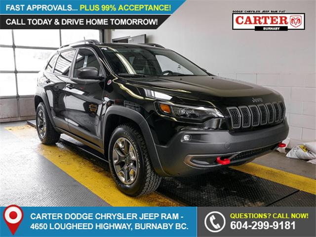 2019 Jeep Cherokee Trailhawk (Stk: X-6085-0) in Burnaby - Image 1 of 25