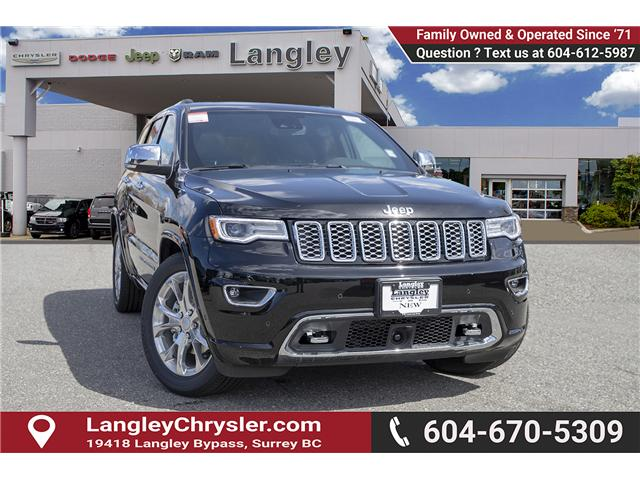2019 Jeep Grand Cherokee Overland (Stk: K680423) in Surrey - Image 1 of 27