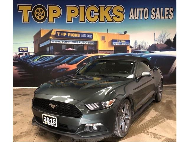 2015 Ford Mustang V6 (Stk: 378795) in NORTH BAY - Image 1 of 26