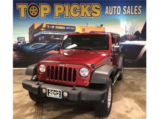 2012 Jeep Wrangler Unlimited Sport (Stk: 248557) in NORTH BAY - Image 1 of 27