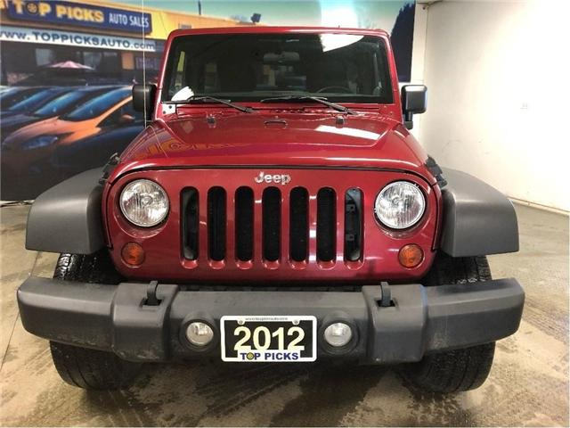 2012 Jeep Wrangler Unlimited Sport (Stk: 248557) in NORTH BAY - Image 2 of 27