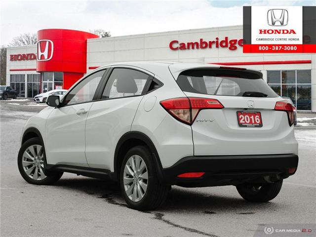 2016 Honda HR-V LX (Stk: 19668A) in Cambridge - Image 4 of 27