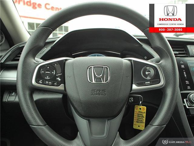2016 Honda Civic LX (Stk: 19361A) in Cambridge - Image 14 of 27