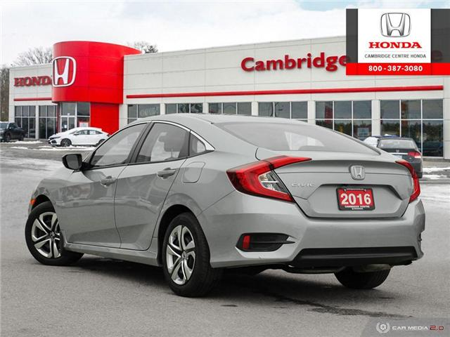 2016 Honda Civic LX (Stk: 19632A) in Cambridge - Image 4 of 27