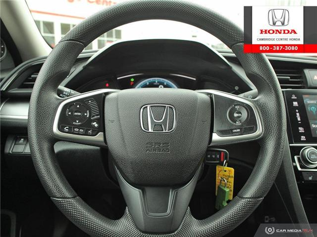 2016 Honda Civic LX (Stk: 19632A) in Cambridge - Image 14 of 27