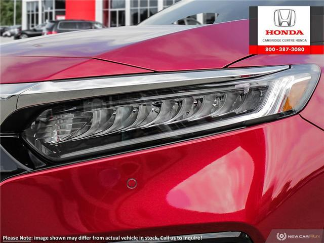 2019 Honda Accord Touring 1.5T (Stk: 19699) in Cambridge - Image 10 of 24