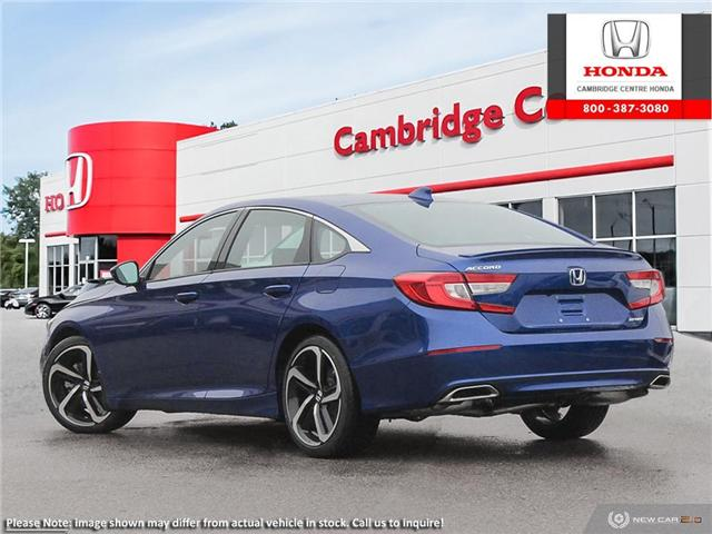 2019 Honda Accord Sport 1.5T (Stk: 19700) in Cambridge - Image 4 of 24