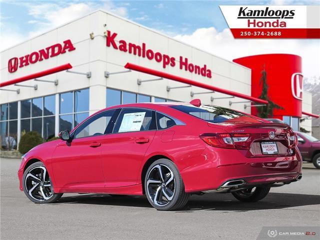 2018 Honda Accord Sport 2.0T (Stk: N14000) in Kamloops - Image 4 of 25