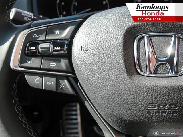 2018 Honda Accord Sport 2.0T (Stk: N14000) in Kamloops - Image 17 of 25