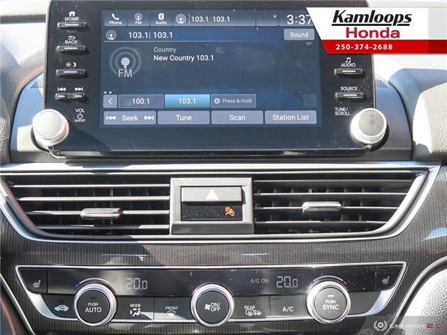 2018 Honda Accord Sport 2.0T (Stk: N14000) in Kamloops - Image 18 of 25