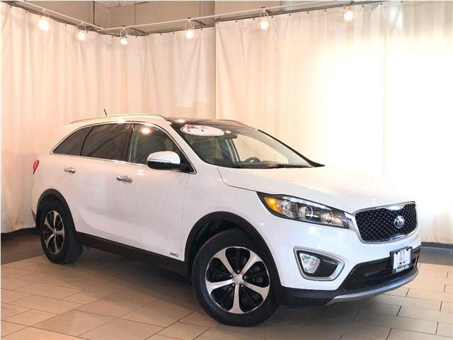 2016 Kia Sorento EX V6 AWD | 7-PASSENGER | LEATHER | ALLOYS (Stk: K31619) in Toronto - Image 1 of 19