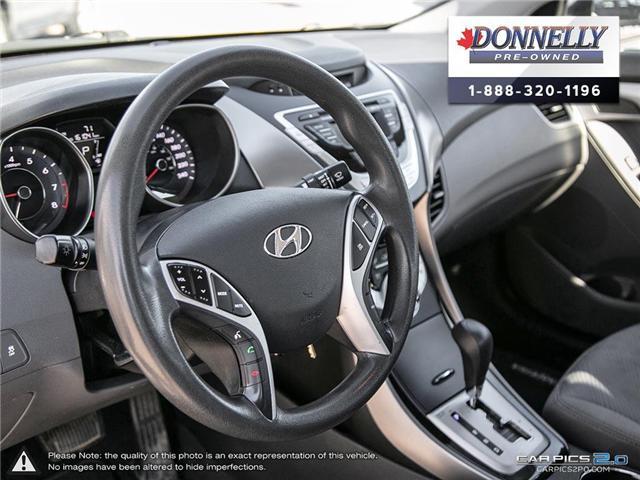 2012 Hyundai Elantra GLS (Stk: PBWMU955A) in Kanata - Image 12 of 27