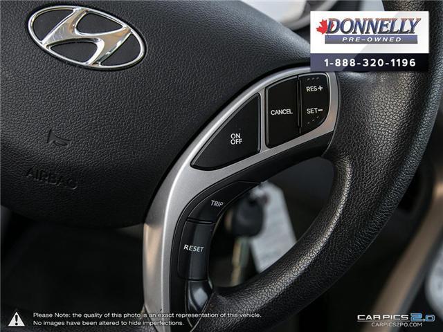 2012 Hyundai Elantra GLS (Stk: PBWMU955A) in Kanata - Image 18 of 27