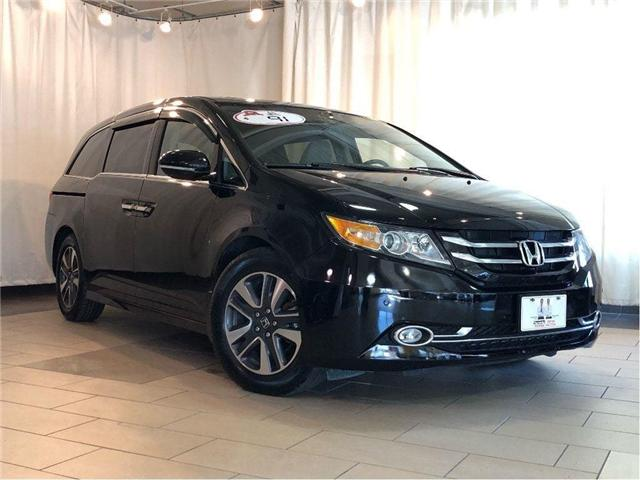 2015 Honda Odyssey Touring | One owner | Clean Carfax | One Owner | D (Stk: 38472) in Toronto - Image 1 of 29
