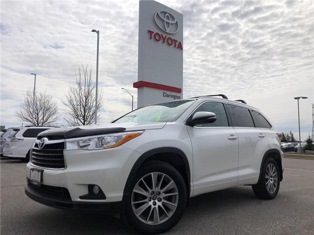 2016 Toyota Highlander XLE (Stk: 19303A) in Bowmanville - Image 1 of 20