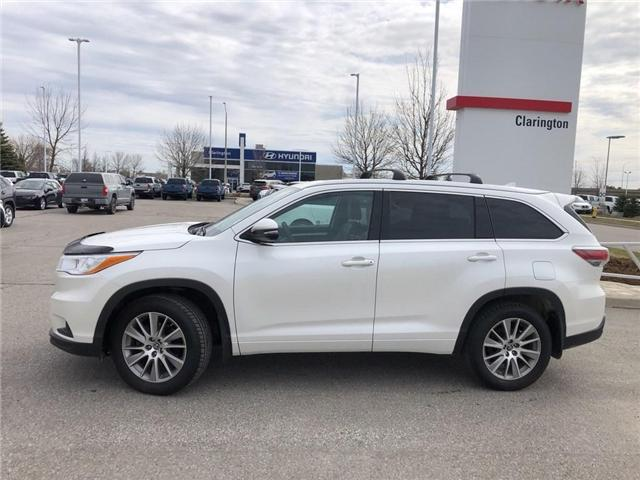2016 Toyota Highlander XLE (Stk: 19303A) in Bowmanville - Image 2 of 20