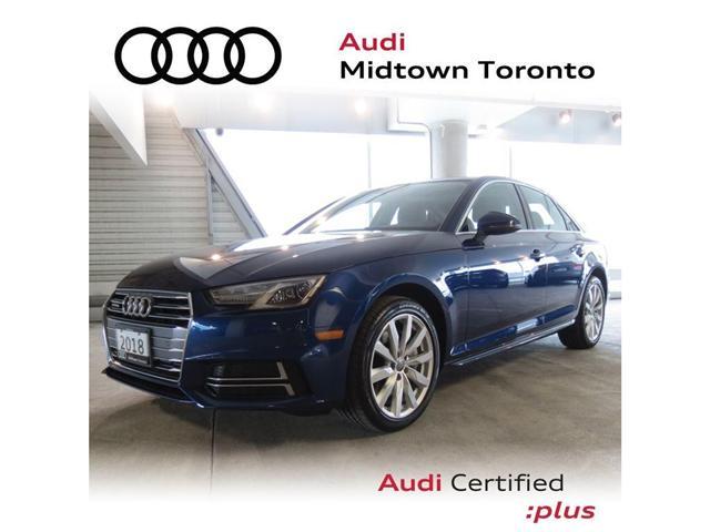 2018 Audi A4 2.0T Komfort (Stk: P7205) in Toronto - Image 1 of 22