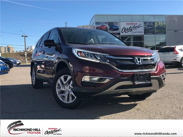 2015 Honda CR-V EX (Stk: 190776P) in Richmond Hill - Image 1 of 18
