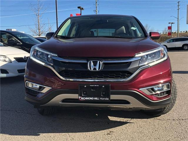 2015 Honda CR-V EX (Stk: 190776P) in Richmond Hill - Image 2 of 18