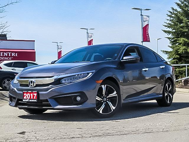 2017 Honda Civic Touring (Stk: U1996A) in Guelph - Image 1 of 22