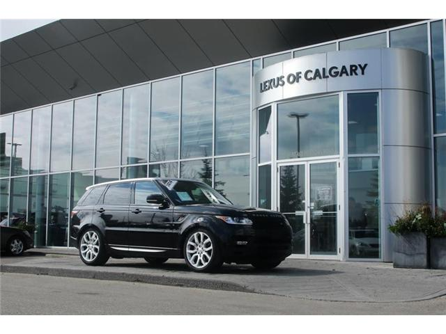 2014 Land Rover Range Rover Sport V8 Supercharged (Stk: 190351A) in Calgary - Image 1 of 14