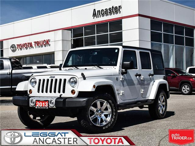 2013 Jeep Wrangler Unlimited Sahara (Stk: 19317A) in Ancaster - Image 1 of 21