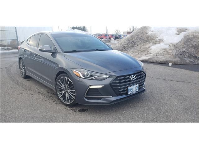 2018 Hyundai Elantra Sport (Stk: R85105) in Ottawa - Image 1 of 9