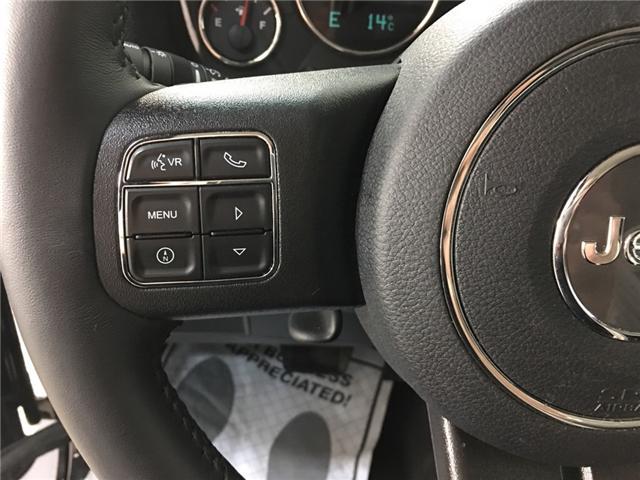 2018 Jeep Wrangler JK Unlimited Sahara (Stk: 34734W) in Belleville - Image 12 of 23