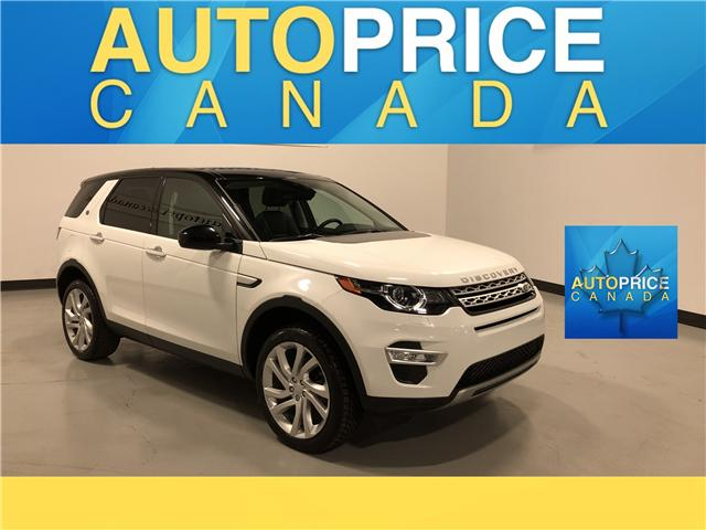 2016 Land Rover Discovery Sport HSE LUXURY (Stk: B0242) in Mississauga - Image 1 of 30