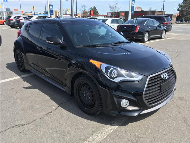 2016 Hyundai Veloster Turbo (Stk: 16-00091) in Brampton - Image 3 of 28