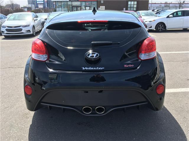 2016 Hyundai Veloster Turbo (Stk: 16-00091) in Brampton - Image 6 of 28