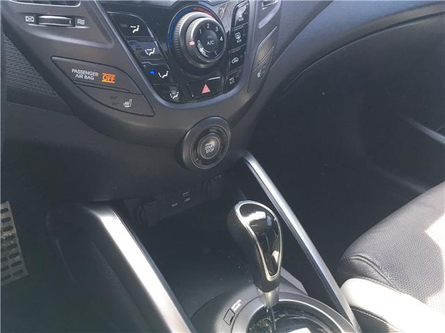 2016 Hyundai Veloster Turbo (Stk: 16-00091) in Brampton - Image 25 of 28