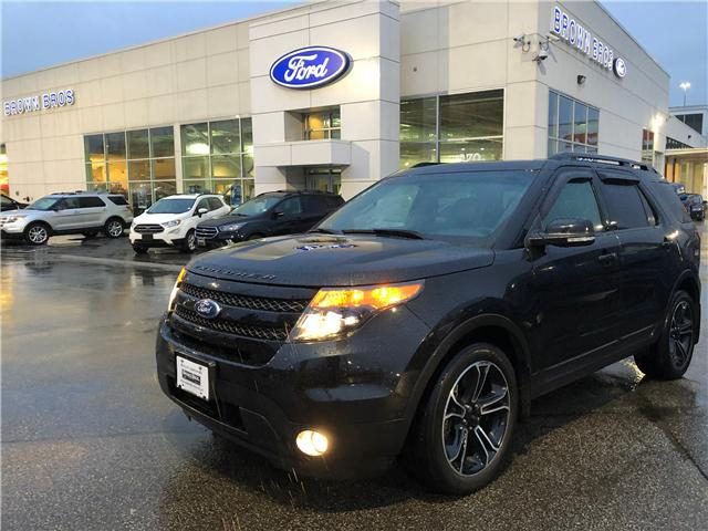 2015 Ford Explorer Sport (Stk: OP19127) in Vancouver - Image 1 of 26