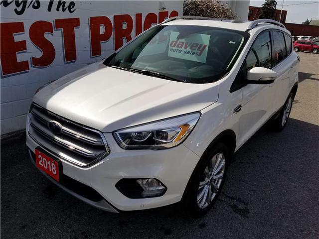 2018 Ford Escape Titanium (Stk: 19-123A) in Oshawa - Image 1 of 16
