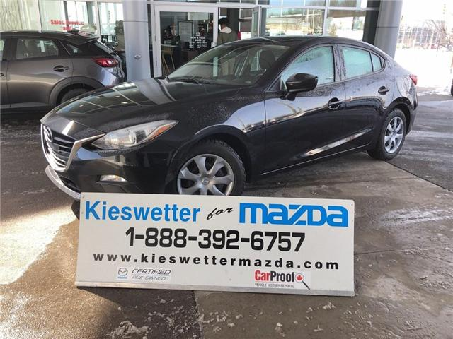 2015 Mazda Mazda3 GX (Stk: U3755) in Kitchener - Image 1 of 22