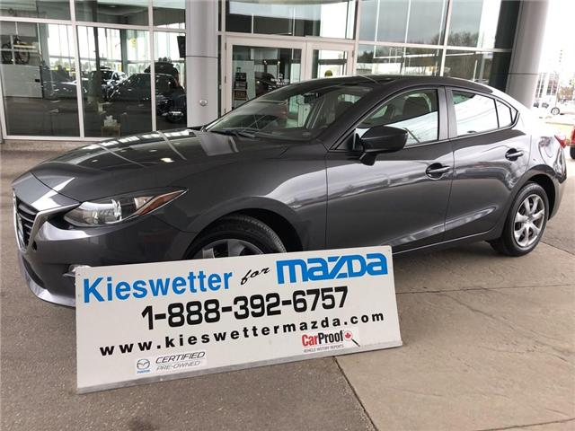 2015 Mazda Mazda3 GX (Stk: U3759) in Kitchener - Image 1 of 26