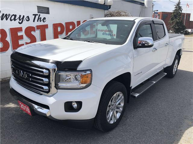 2018 GMC Canyon SLT (Stk: 19-147) in Oshawa - Image 1 of 15