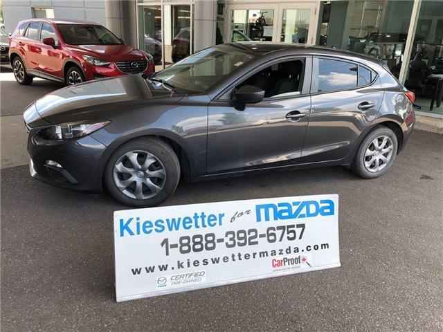 2015 Mazda Mazda3 GX (Stk: U3661) in Kitchener - Image 1 of 26