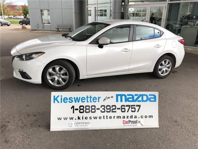 2015 Mazda Mazda3 GX (Stk: U3701) in Kitchener - Image 1 of 30
