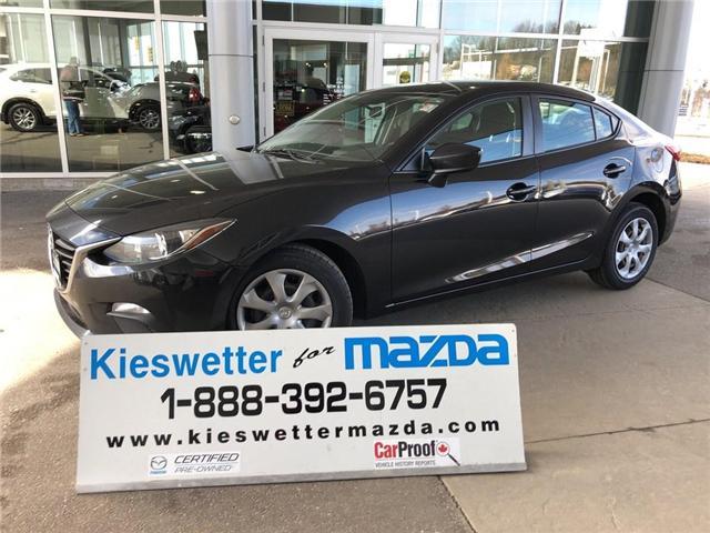 2015 Mazda Mazda3 GX (Stk: U3761) in Kitchener - Image 1 of 26