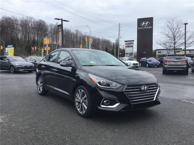 2019 Hyundai Accent Ultimate (Stk: R95575) in Ottawa - Image 1 of 11