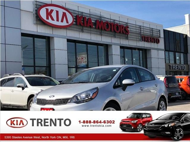 2017 Kia Rio LX+ (Stk: U310) in North York - Image 1 of 19