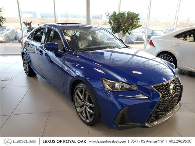 2019 Lexus IS 300 Base (Stk: L19082) in Calgary - Image 1 of 5