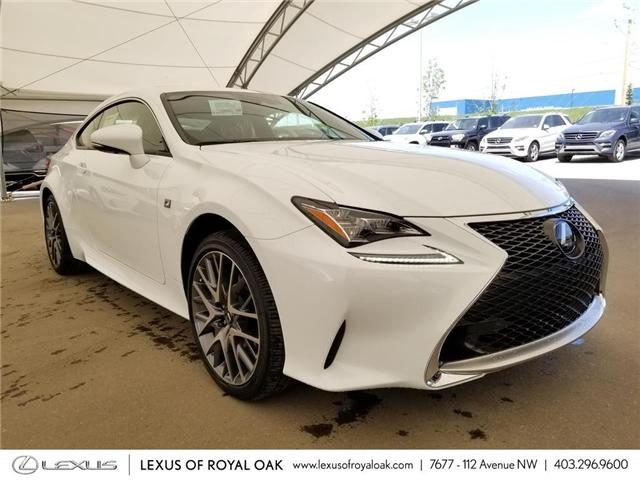 2018 Lexus RC 300 Base (Stk: L18168) in Calgary - Image 1 of 8