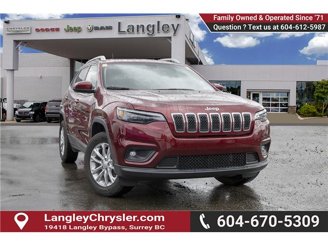 2019 Jeep Cherokee North (Stk: EE902530) in Surrey - Image 1 of 23