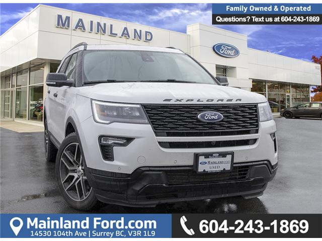 2018 Ford Explorer Sport (Stk: 9F30406A) in Surrey - Image 1 of 26