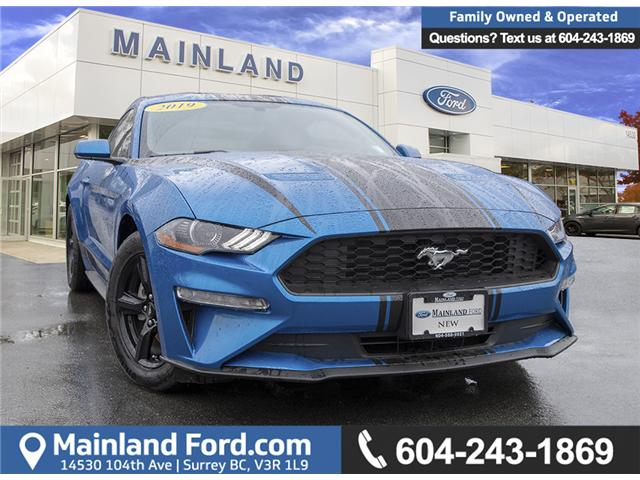 2019 Ford Mustang EcoBoost 1FA6P8TH8K5105161 9MU5161 in Vancouver