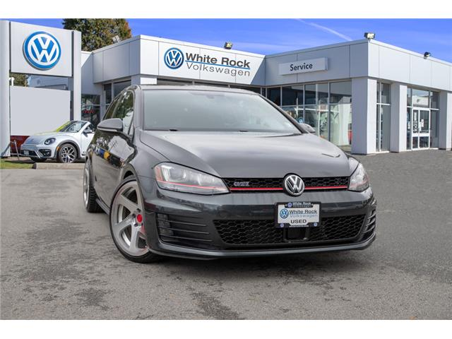 2015 Volkswagen Golf GTI 3-Door Autobahn (Stk: VW0839) in Surrey - Image 1 of 23